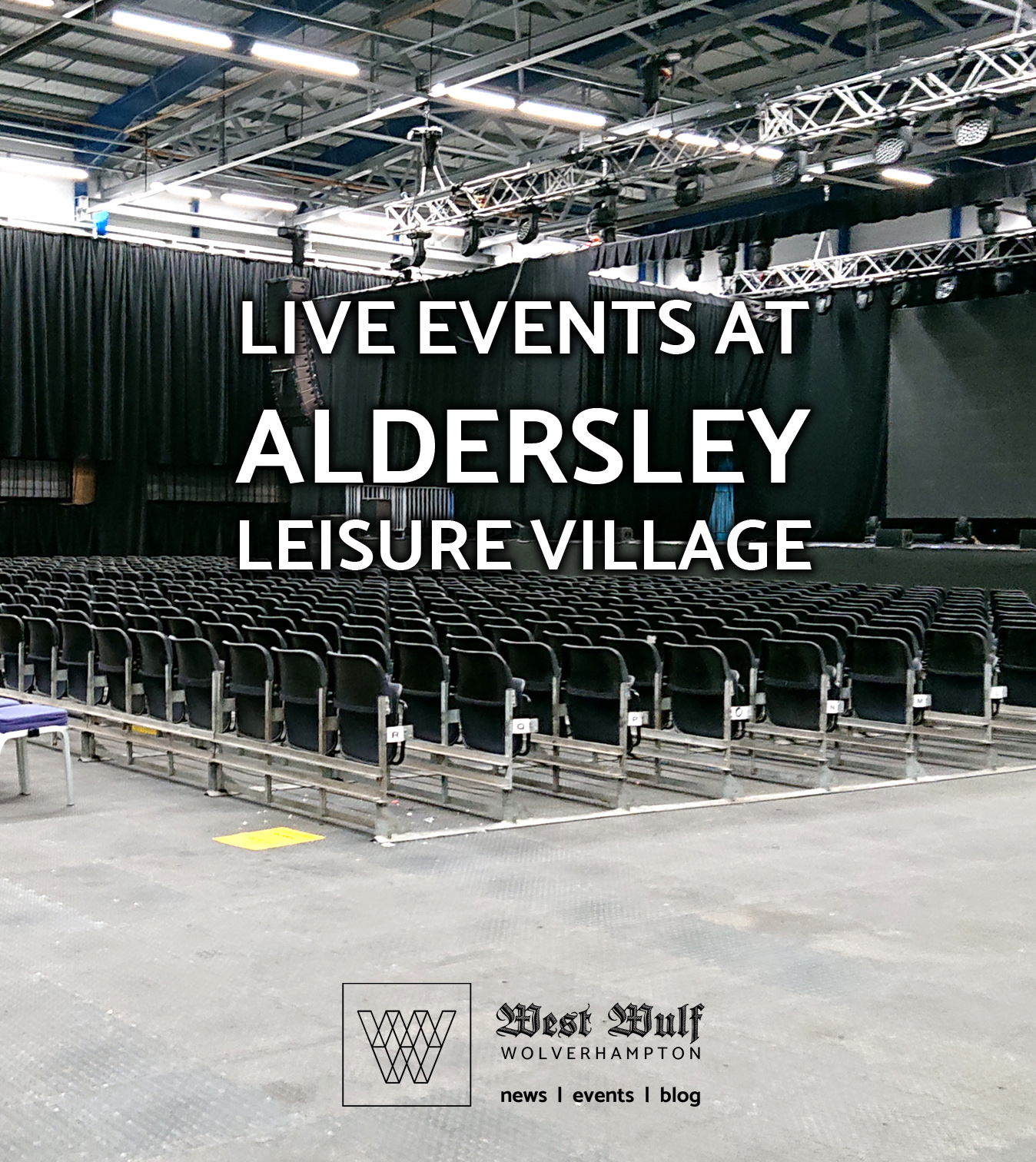 Live events at Aldersley