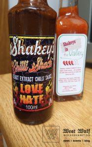Chilli sauce from Wolverhampton