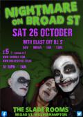 Nightmare on Broad Street, Wolverhamptoin www.https://www.westwulf.co.uk